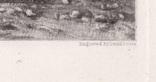 """Гравюра. Дж. Констебл - Лукас. """"Весна"""". До 1840 года. (42,8 на 29 см). Оригинал. фото 6"""