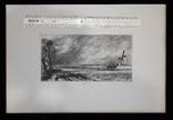 """Гравюра. Дж. Констебл - Лукас. """"Весна"""". До 1840 года. (42,8 на 29 см). Оригинал. фото 8"""