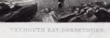 "Гравюра. Дж. Констебл - Лукас. ""Уэймут Бэй"". До 1840 года. (35,4 на 26,8 см). Оригинал. фото 5"