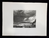 "Гравюра. Дж. Констебл - Лукас. ""Уэймут Бэй"". До 1840 года. (35,4 на 26,8 см). Оригинал. фото 7"