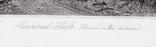 """Гравюра. Дж. Констебл - Лукас. """"Хэмпстед-Хит."""". До 1840 года. (42,8 на 29 см). Оригинал. фото 5"""