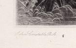 "Гравюра. Дж. Констебл - Лукас. ""Мельница."". До 1840 года. (42,8 на 29 см). Оригинал. фото 4"