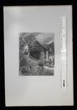 "Гравюра. Дж. Констебл - Лукас. ""Мельница."". До 1840 года. (42,8 на 29 см). Оригинал. фото 8"