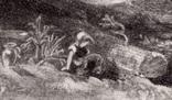 "Гравюра. Дж. Констебл - Лукас. ""Ферма Глеба"". До 1840 года. (42,8 на 29 см). Оригинал. фото 3"