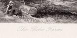 "Гравюра. Дж. Констебл - Лукас. ""Ферма Глеба"". До 1840 года. (42,8 на 29 см). Оригинал. фото 5"