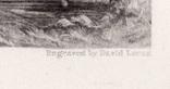 "Гравюра. Дж. Констебл - Лукас. ""Ферма Глеба"". До 1840 года. (42,8 на 29 см). Оригинал. фото 6"
