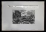 "Гравюра. Дж. Констебл - Лукас. ""Ферма Глеба"". До 1840 года. (42,8 на 29 см). Оригинал. фото 8"