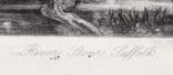 "Гравюра. Дж. Констебл - Лукас. ""Река Стаур"". До 1840 года. (42,8 на 29 см). Оригинал. фото 5"