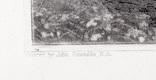 "Гравюра. Дж. Констебл - Лукас. ""Солсбери. Собор"". До 1840 года. (42,8 на 29 см). Оригинал. фото 4"