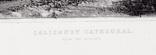 "Гравюра. Дж. Констебл - Лукас. ""Солсбери. Собор"". До 1840 года. (42,8 на 29 см). Оригинал. фото 5"