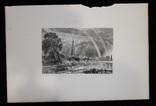 "Гравюра. Дж. Констебл - Лукас. ""Солсбери. Собор"". До 1840 года. (42,8 на 29 см). Оригинал. фото 7"
