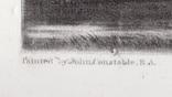 """Гравюра. Дж. Констебл - Лукас. """"Бергхольт"""". До 1840 года. (42,8 на 29 см). Оригинал. фото 4"""