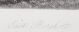 """Гравюра. Дж. Констебл - Лукас. """"Бергхольт"""". До 1840 года. (42,8 на 29 см). Оригинал. фото 5"""