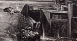"""Гравюра. Дж. Констебл - Лукас. """"Замок на Стоуре"""". До 1840 года. (42,8 на 29 см). Оригинал. фото 2"""