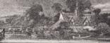 """Гравюра. Дж. Констебл - Лукас. """"Замок на Стоуре"""". До 1840 года. (42,8 на 29 см). Оригинал. фото 3"""