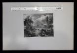"""Гравюра. Дж. Констебл - Лукас. """"Замок на Стоуре"""". До 1840 года. (42,8 на 29 см). Оригинал. фото 8"""