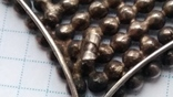 Брошь серебро 875 пр. звезда с камнями, фото №7