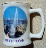 Стопки Петергоф, Vysoke Tatry, Slovensko, Козацька (5 шт.) + тарелочка Сирия, фото №2
