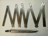 Метр металлический из СССР. ГОСТ 7253-54, фото №4