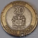 Ямайка 20 доларів, 2000