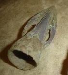 """Белозерская культура, примерно 1260-1000 гг. до н.э., наконечник типа """"Златополь"""", фото №2"""