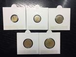 Менорка 1937 г. полный набор 5 монет, фото №3