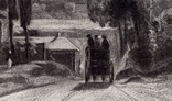 """Гравюра. Дж. Констебл - Лукас. """"Рич Стилс"""". До 1840 года. (42,8 на 29 см). Оригинал. фото 2"""