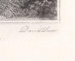 """Гравюра. Дж. Констебл - Лукас. """"Рич Стилс"""". До 1840 года. (42,8 на 29 см). Оригинал. фото 6"""