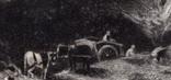 """Гравюра. Дж. Констебл - Лукас. """" Вереск"""". До 1840 года. (42,8 на 29 см). Оригинал. фото 2"""
