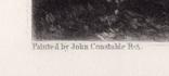 """Гравюра. Дж. Констебл - Лукас. """" Вереск"""". До 1840 года. (42,8 на 29 см). Оригинал. фото 4"""