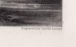 "Гравюра. Дж. Констебл - Лукас. ""Мельница"". До 1840 года. (42,8 на 29 см). Оригинал. фото 6"