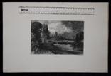 "Гравюра. Дж. Констебл - Лукас. ""Мельница"". До 1840 года. (42,8 на 29 см). Оригинал. фото 8"