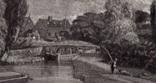 "Гравюра. Дж. Констебл - Лукас. ""Флэтфордская мельница"". До 1840 года. (42,8 на 29 см). фото 3"