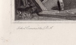 "Гравюра. Дж. Констебл - Лукас. ""Флэтфордская мельница"". До 1840 года. (42,8 на 29 см). фото 4"
