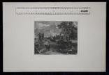 "Гравюра. Дж. Констебл - Лукас. ""Флэтфордская мельница"". До 1840 года. (42,8 на 29 см). фото 8"