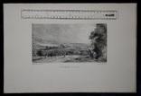 """Гравюра. Дж. Констебл - Лукас. """"Осенний закат"""". До 1840 года. (42,8 на 29 см). Оригинал. фото 8"""