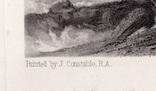 """Гравюра. Дж. Констебл - Лукас. """" Морской пляж"""". До 1840 года. (42,8 на 29 см). Оригинал. фото 4"""