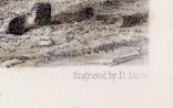 """Гравюра. Дж. Констебл - Лукас. """" Морской пляж"""". До 1840 года. (42,8 на 29 см). Оригинал. фото 6"""