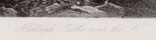 """Гравюра. Дж. Констебл - Лукас. """"Замок Хадли"""". До 1840 года. (42,8 на 29 см). Оригинал. фото 5"""