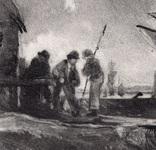 "Гравюра. Дж. Констебл - Лукас. ""Вид на Оруэлл"". До 1840 года. (42,8 на 29 см). Оригинал. фото 3"