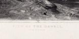 "Гравюра. Дж. Констебл - Лукас. ""Вид на Оруэлл"". До 1840 года. (42,8 на 29 см). Оригинал. фото 5"