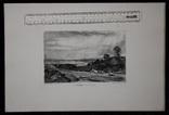 """Гравюра. Дж. Констебл - Лукас. """"Летнее утро"""". До 1840 года. (42,8 на 29 см). Оригинал. фото 8"""