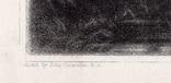 """Гравюра. Дж. Констебл - Лукас. """"Замок"""". До 1840 года. (42,8 на 29 см). Оригинал. фото 4"""