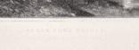 """Гравюра. Дж. Констебл - Лукас. """"Замок"""". До 1840 года. (42,8 на 29 см). Оригинал. фото 5"""