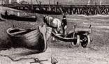 """Гравюра. Дж. Констебл - Лукас. """"Ярмут, Норфолк"""". До 1840 года. (42,8 на 29 см). Оригинал. фото 3"""