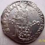 Срібний дукат 1690 р. Утрехт Нідерланди, фото №4