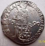 Срібний дукат 1690 р. Утрехт Нідерланди, фото №5