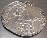 Срібний дукат 1690 р. Утрехт Нідерланди, фото №6