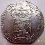 Срібний дукат 1690 р. Утрехт Нідерланди, фото №9