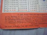 Табель-Календарь на 1964 г, фото №5